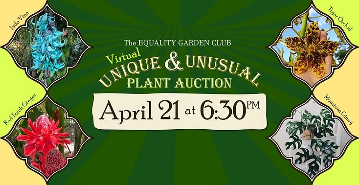 EGC - Rare & Unusual Plant Auction - fac