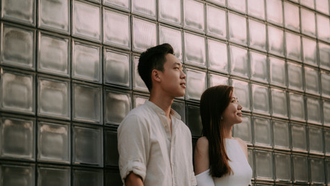 Qian Hui and Joel