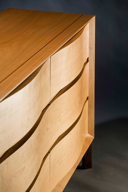 Serpentine Cabinet / Sideboard