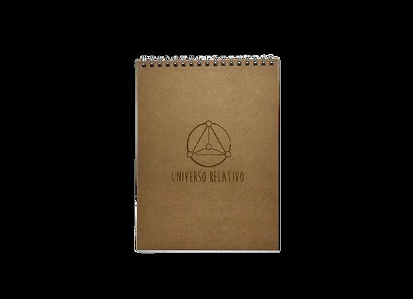 Caderno UR Marrom