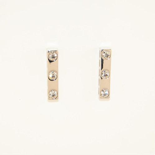 VIP - Bar Stud Earrings