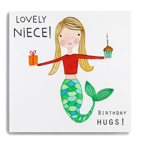 Janie Wilson - Lovely Niece Mermaid