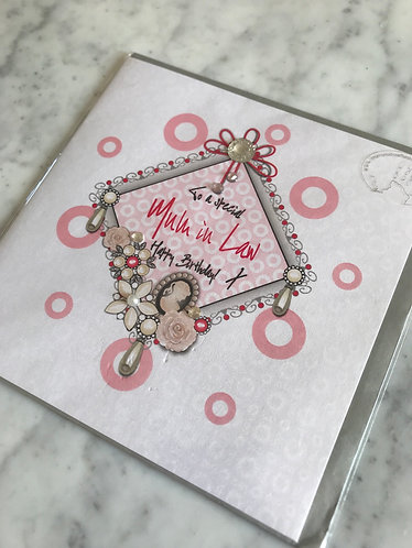 The Handcrafted Card Company - Special Mother-In-Law