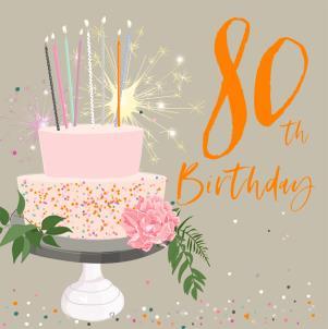 Belly Button - 80th Birthday Cake