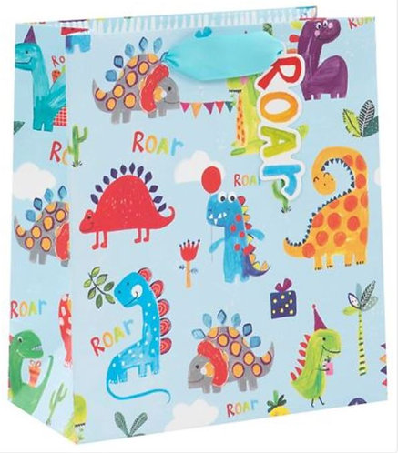 Glick - Medium Dinosaurs Gift Bag