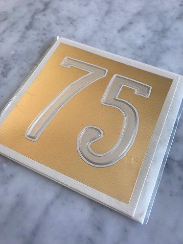 Gold Metallic 75