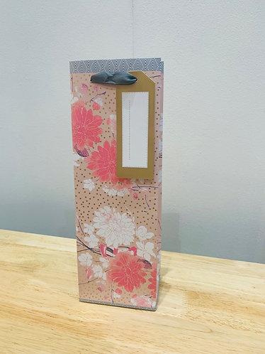 Artebene - Floral Bottle Bag