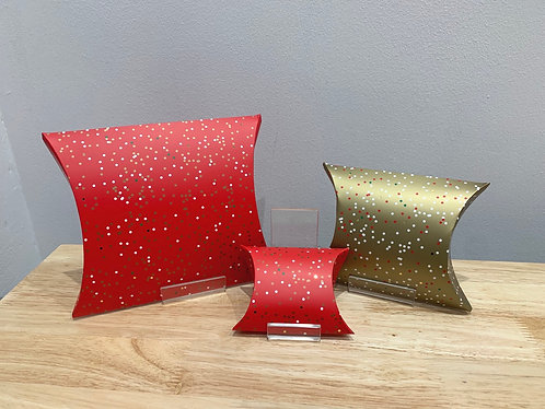Belly Button - Christmas Pillow Boxes