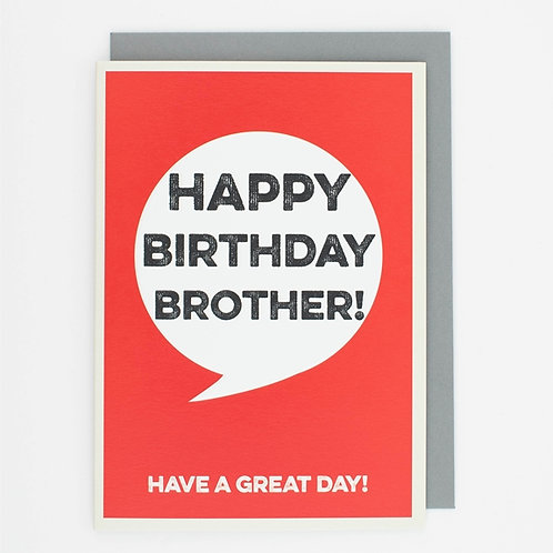 Think Of Me - Happy Birthday Brother!