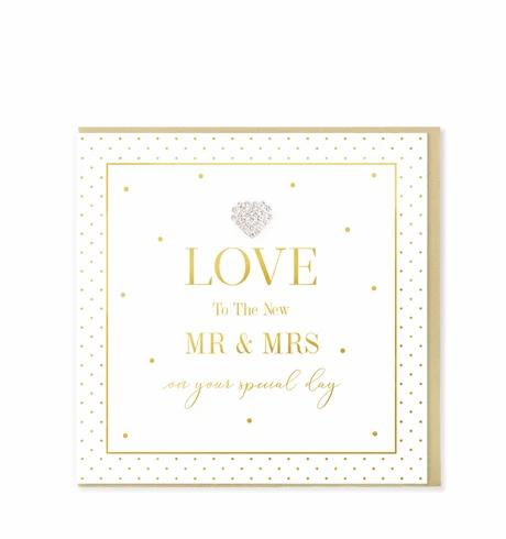 Hearts Designs - New Mr & Mrs