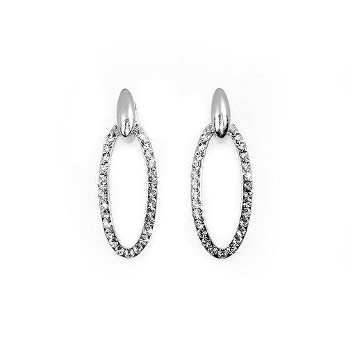 VIP - Oval Drop Earrings