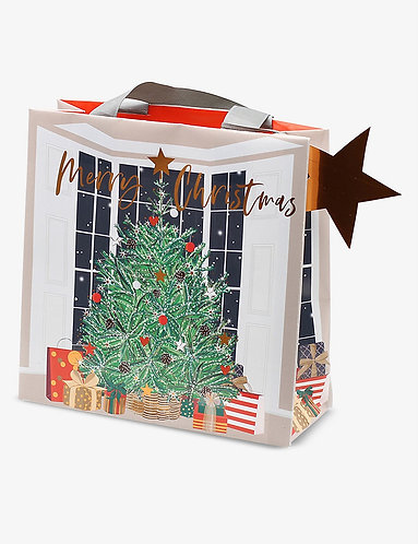 Belly Button Xmas - Christmas Tree Gift Bag