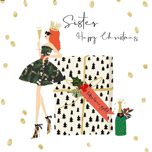 Hammond Gower Xmas - Sister Happy Christmas