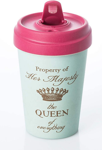 BambooCup- Her Majesty Re-useable Cup