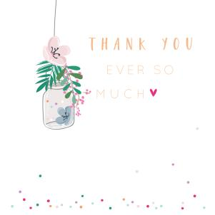 Belly Button Thank You Card