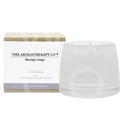 Relax Therapy Candle Lavendar & Clary Sage