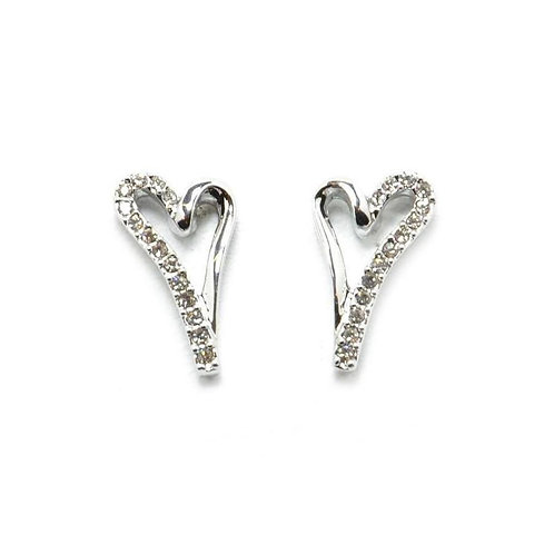 VIP - Open Heart Stud Earrings