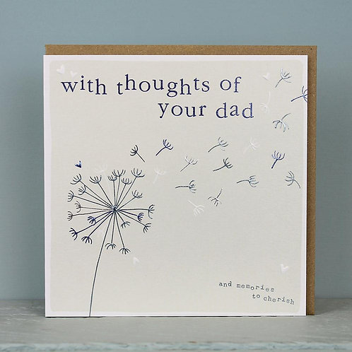 Sympathy - With Thoughts of Your Dad