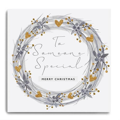 Janie Wilson Xmas - Someone Special (wreath)