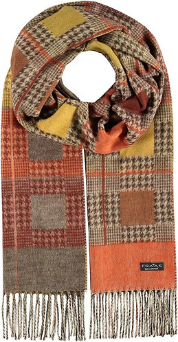 Fraas - Checkered Cashmink Scarf
