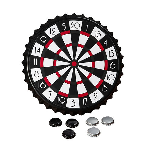 MAGNETIC BOTTLE CAP DARTS BORED GAME