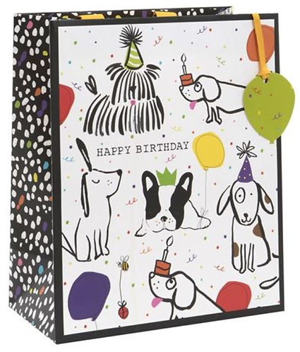 Glick - Large Doodle Dogs Gift Bag