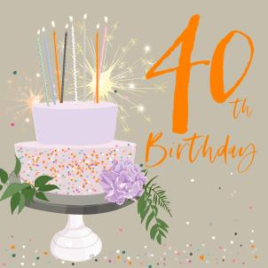 Belly Button - 40th Birthday