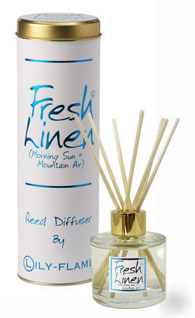 Lily Flame - Fresh Linen Diffuser