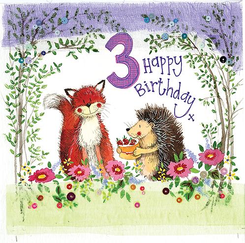 Alex Clark - Age 3 Woodland Birthday