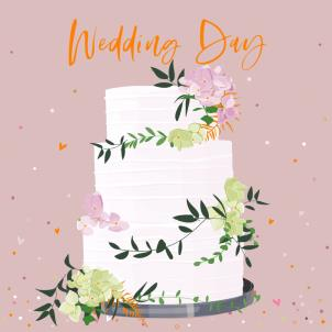 Belly Button Wedding Day Card