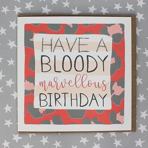 Molly Mae - Bloody Marvellous Birthday