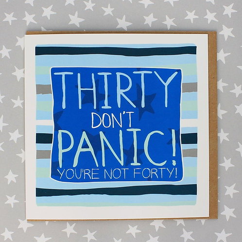Molly Mae Thirty Don't Panic Not 40 Card