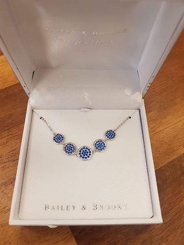 Bailey & Brooke Blue Moon Necklace