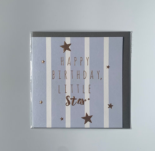 Happy Birthday Little Star