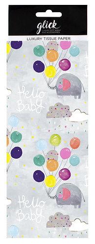 Glick - Hello Baby Tissue Paper