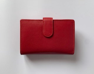 Golunski Medium Red Tab Purse