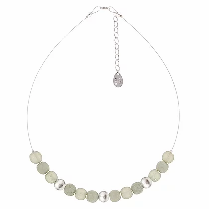 Carrie Elpseth Grey Mottles Necklace
