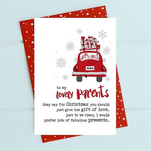 Dandelion Xmas - Lovely Parents (presents)