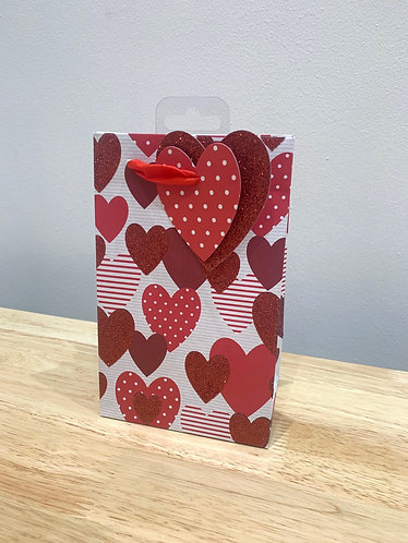 Small Hearts Gift Bag