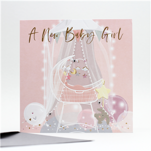 Belly Button - New Baby Girl (Crib)
