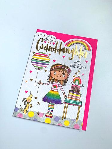 Rachel Ellen - Special Granddaughter