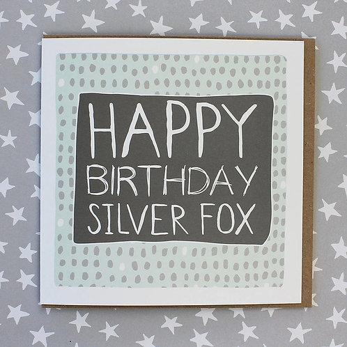 Molly Mae Happy Birthday Silver Fox