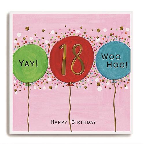 Janie Wilson - 18 Yay! Woo Hoo!