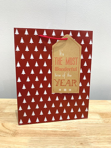 Most Wonderful Time Of The Year Gift Bag (Large)