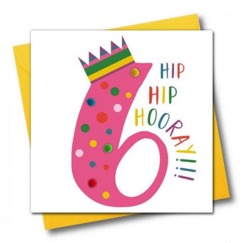 Claire Giles - Age 6 Hip Hip Hooray!!!