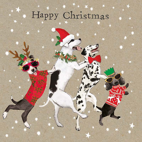 Hammond Gower Xmas - Charity Christmas Card Pack (Festive Dogs)