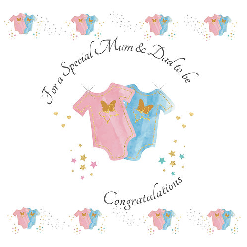 Special Mum & Dad to be Card