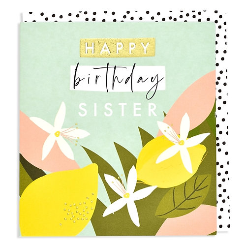 Think of Me - Happy Birthday Sister