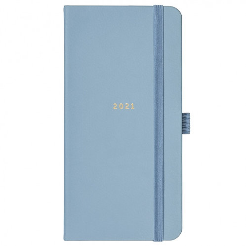 Busy B - Slim Diary (Blue)