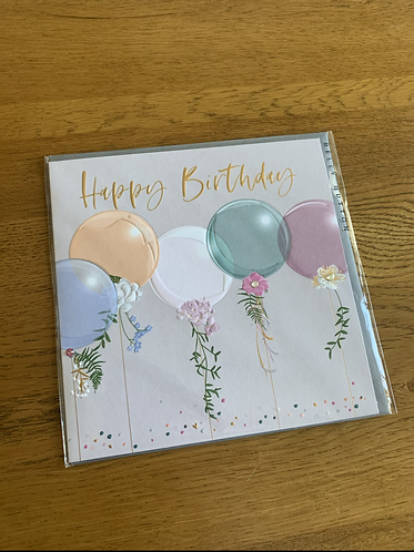Belly Button - Birthday Balloons